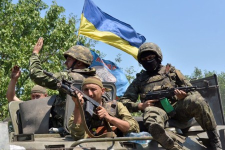 Winning Ukr troops