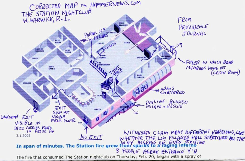 Hells Kitchen Nightclub Fire At The Station By Michael