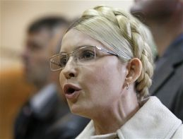 tymoshenko in         court